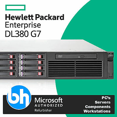 HP Proliant DL380 G7 2x Intel Xeon L5640 2.26GHz 6 Hex Core 48GB DDR3 300GB 15K