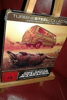 Neu Ovp☆ Limited Edition☆2 Blu Ray Discs☆The Texas Chainsaw Massacre☆4K Mastered