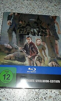 Neu Ovp☆Limitierte Steelbook Edition☆Jack And The Giants☆Blu Ray☆Oop