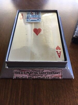 Bicycle Playing Cards 1930's Sealed Antique Old