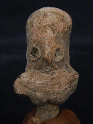 Ancient Teracotta Mother Goddess Torso Indus Valley 2000 BC  #TR15418