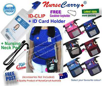Nurse Carry® Pocket POUCH Quick Pick Belt Bag + Drawstring Nurse PEN + LANYARD