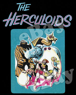 Rare! THE HERCULOIDS Cartoon Color TV Photo HANNA BARBERA Studios CONCEPT ART