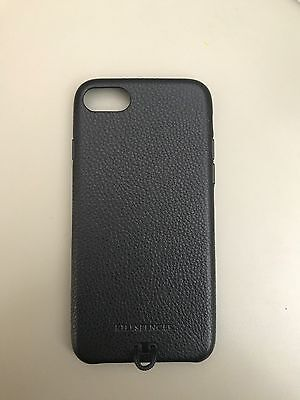 iphone 7, case, snap case, leather, new, black, elegant, smooth, durable, apple