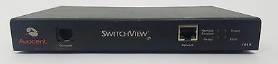 Avocent SwitchView IP 1010 KVM Switch Remote Access Device 520-334-001