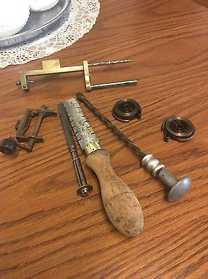 old clock makers tools