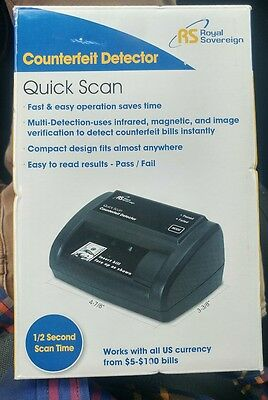 New Royal Sovereign Quick Scan Counterfeit Detector (RCD-2120)