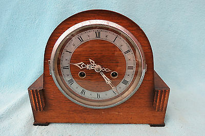 Vintage Enfield ? 8 Day Striking Mantel Clock For Tlc