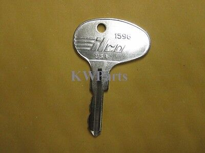 Caterpillar, CAT & Mitsubishi Forklift Ignition Key - Ilco 1596