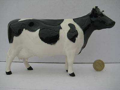 Rare Vintage Beswick Cow  Friesian Ch Claybury Leewater 1362A Cattle