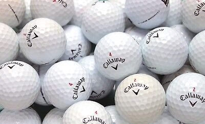 20 Callaway Chrome Soft Golf Balls Pearl/A Grade