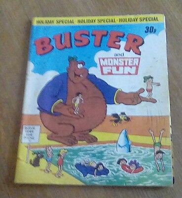 Buster and Monster Fun comic 1977
