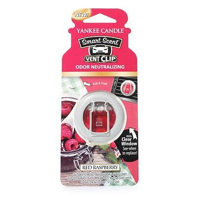 Yankee Candle Autoduft Vent Clip Red Raspberry