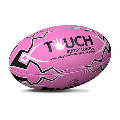 Pink Touch Rugby League Rugby Ball