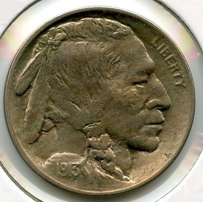 1913 Buffalo Nickel - Type 2 - Uncirculated - Philadelphia Mint AL332