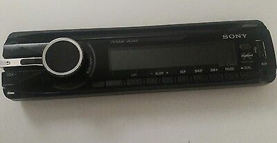 Sony CDX-GT540UI Face plate Pre-Owned Free shipping!!