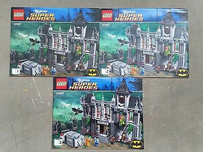 Lego 7785 Batman Arkham Asylum Instruction Manual Only 5500