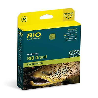Rio Grand Floating Fly Line Pale Green/Lt. Yellow