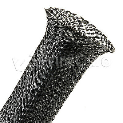 "CNN0.75BK - 3/4"" - Conductive Plastic Sleeving - Black - 25 Ft Cuts"