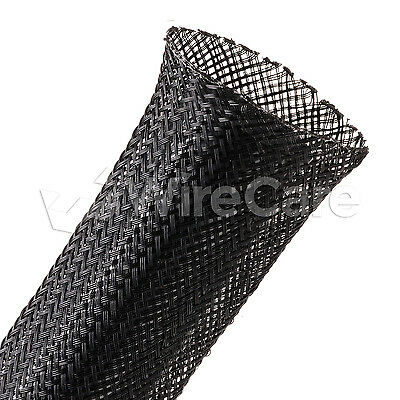"CNN1.25BK - 1 1/4"" - Conductive Plastic Sleeving - Black - 25 Ft Cuts"