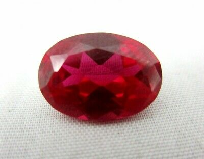 Lab Grown Oval Ruby 5mm x 3mm Lot of 25 Stones
