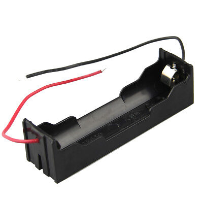 10pcs DIY 1 Slot 18650 Battery Holder With 2 Leads