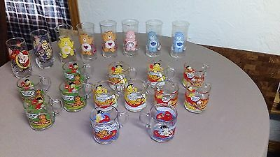pizza hut and mcdonalds collectible glasses