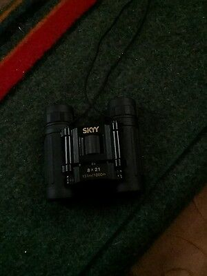 Skyy vodka sports binoculars