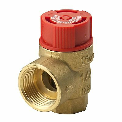 """1/2"""" 3/4"""" 1"""" Female FxF Safety Pressure Release Relief Reducing Valve 1,5-8 Bar"""