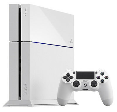 Sony PlayStation 4 500 GB White Console With GTA 5 Brand New Boxed & Sealed