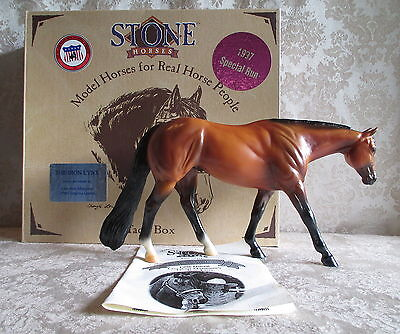 Peter Stone # 9628 Iron Lynx – AQHA Queen Horse – 1997 C. Liddy Collection