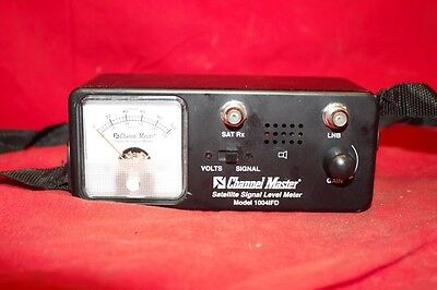 Channel Master Satellite Signal Level Meter Model 1004IFD (CP1026498)