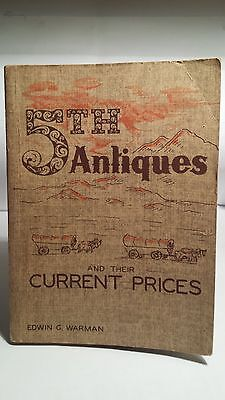 Warman's 5th Edition Antiques Price Guide..1958..Excellent Condition..BUY $7.99