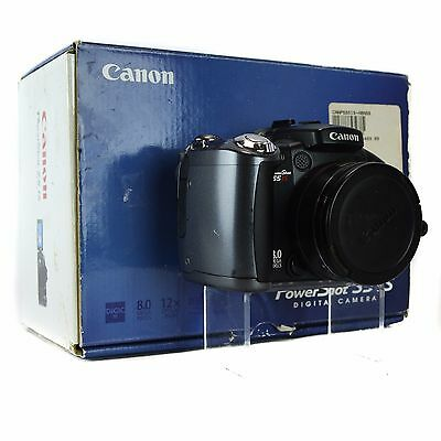 Canon PowerShot S5 IS 8.0 MP Compact Digital Camera Black S5IS Image-Stabilizer