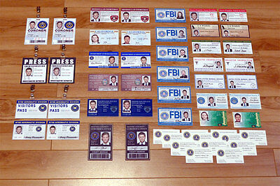 SUPERNATURAL PROP COSTUME Cosplay 12 FBI Business Cards (all Aliases Available) - $15.26 | PicClick
