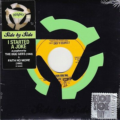 "The Bee Gees / Faith No More - I Started A Joke - 7"" RSD Green Vinyl  45 - New"