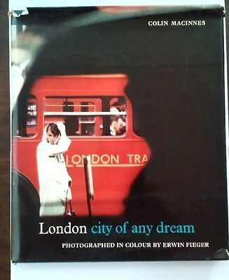 LONDON city of any dream by Colin Macinnes photography by ERWIN FIEGER 1960's DJ