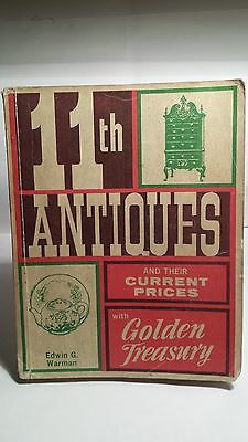 Warman's 11th Edition Antiques Price Guide..1972..Nice Condition..BUY $4.99