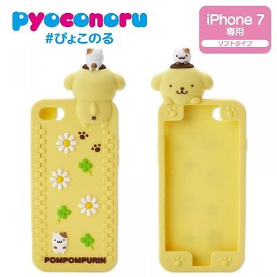 NEW Sanrio Pom Pom Purin iPhone 6s//6 Case Cafe PNSLC001 from Japan