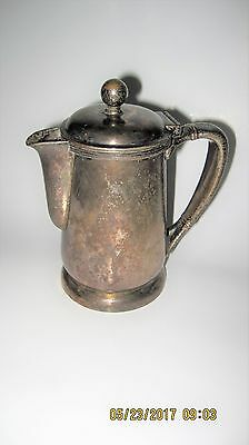 Vintage International Silver Co. Silver Soldered - Hotel Teapot - Early 1900's