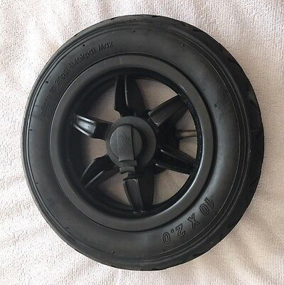 """Mountain Buggy Swift or Duet COMPLETE REAR WHEEL  10"""" 10 inch"""