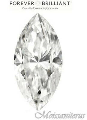 Loose Forever Brilliant Marquise  Moissanite with Certificate of Authenticity