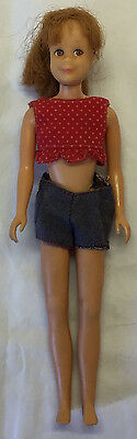 Bendable Leg Skooter Titan (Red) Hair and Freckles With Original Outfit 1960's
