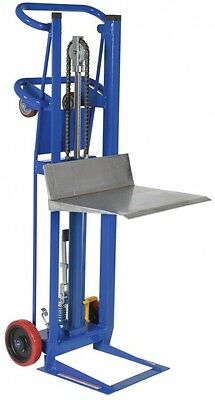 Hydra Lift Cart Dolly Hand Truck Metal Frame Blue 750 lbs Load Capacity
