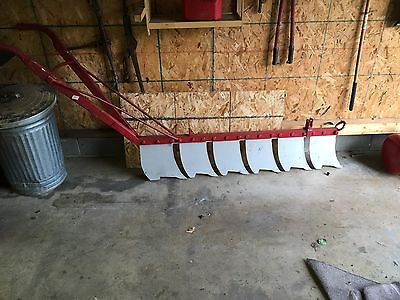 Antique Horse drawn ice cutter