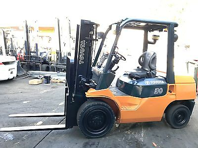 Toyota Forklift 7FD30 Diesel 3 Ton Runs like New $13999+GST Negotiable NSW