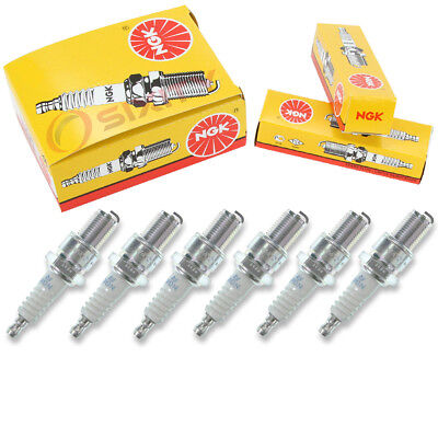 6 pcs NGK Standard Plug Spark Plugs 1966 GMC PB15 Series 4.8L L6 Kit Set dp