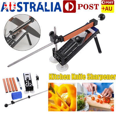 New Gen Kitchen Knife Sharpener Sharpening System Fix-angle with 4 Stones Tool