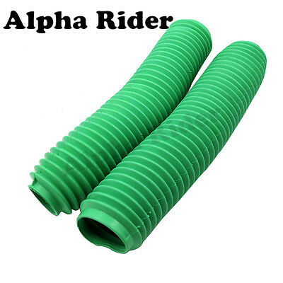 60MM Fork Boot Dust Covers Gaiters For Yamaha YZ125 YZ250 YZ250F YZ400F WR Green