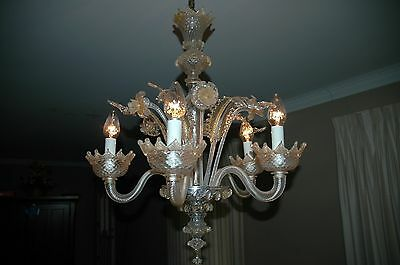 Murano Glass Chandelier/Hanging Lamp